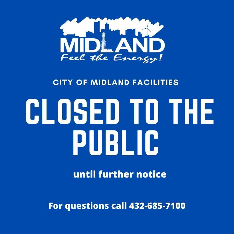 City facilities closed