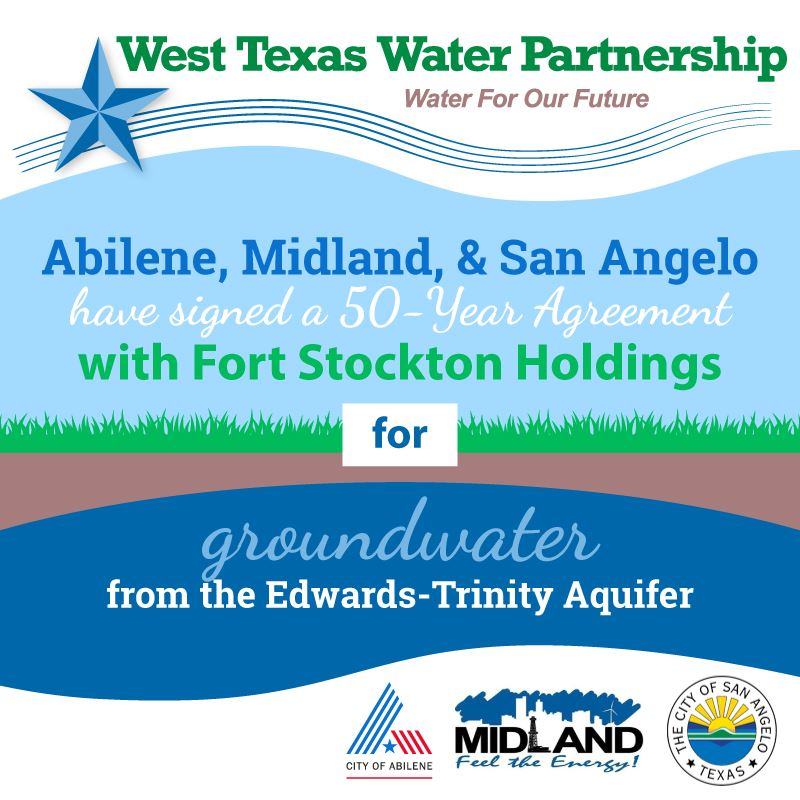 West Texas Water Partnership 50 Year Agreement Icon